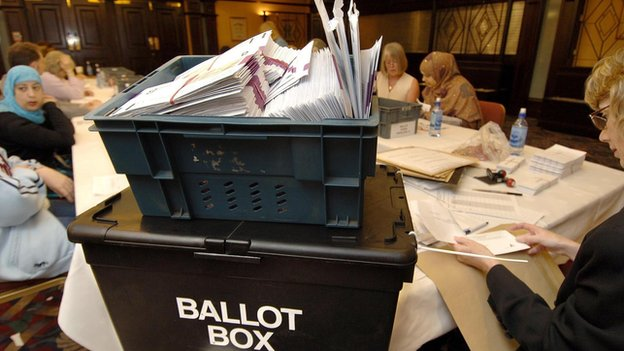Postal votes applied for in the Bradford District local elections (file photo)