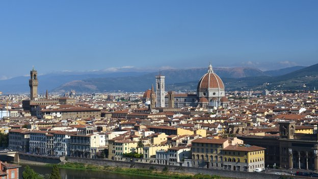 The skyline of Florence
