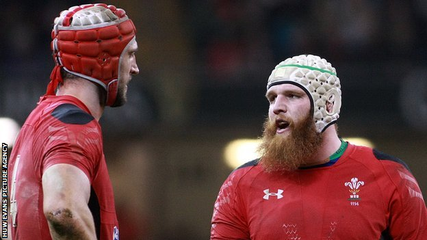 Luke Charteris and Jake Ball