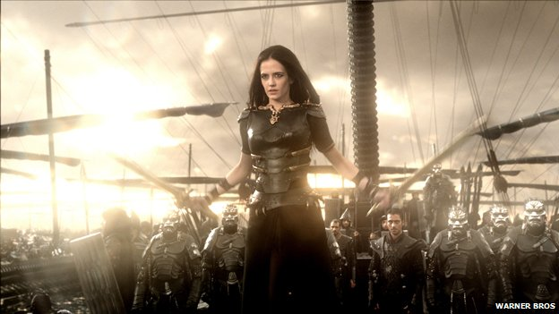 Eva Green in 300