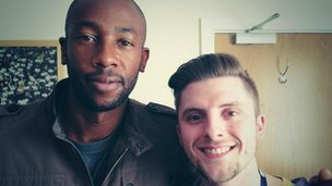 Paulo Wanchope and Owen Bradley
