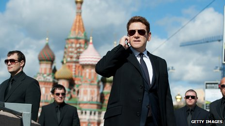 Kenneth Branagh plays a Russian oligarch