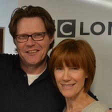 Robert Elms and Kiki Dee