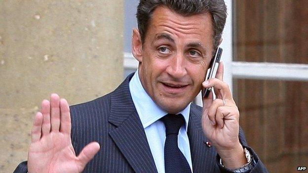 Nicolas Sarkozy (2007 file image)