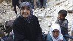 Assad forces 'starving' refugee camp