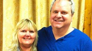 Donna and Alun Leppitt