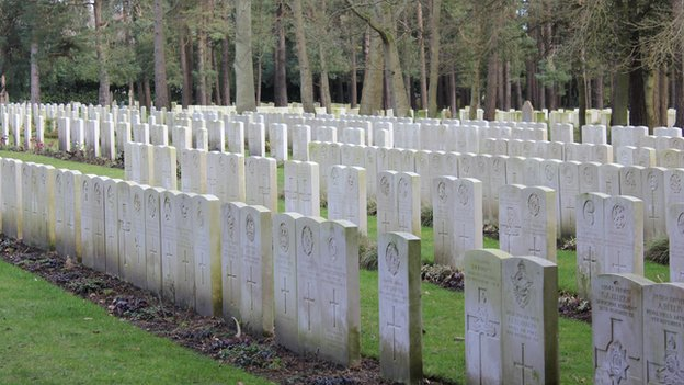 Brookwood Military Cemetery - WW1 graves