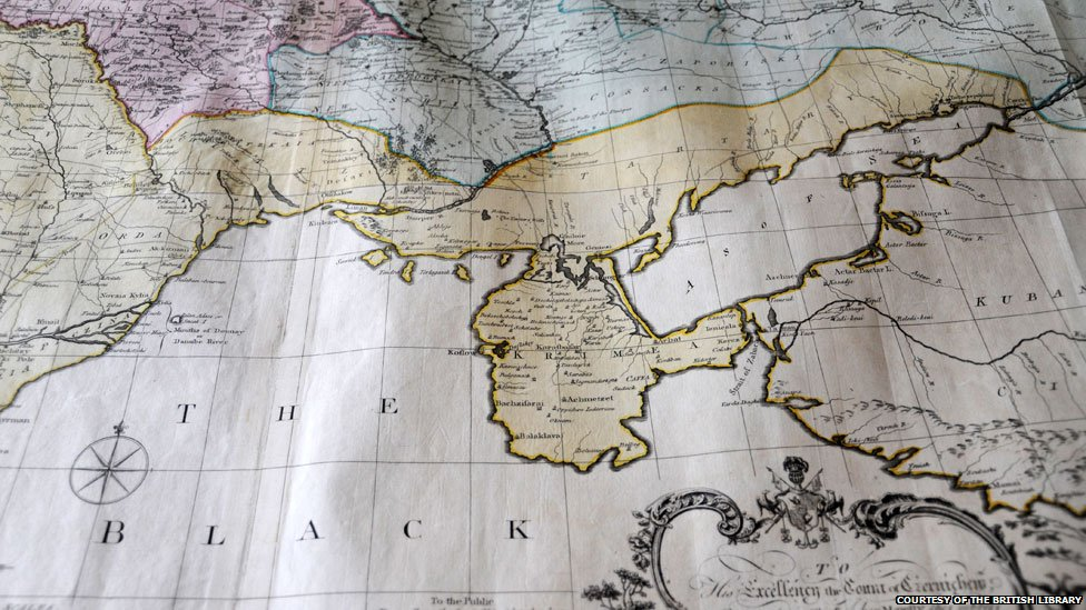 1769 map courtesy of the British Library