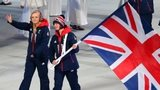 GB flagbearer Millie Knight