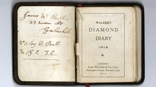 James McPartlin'S WW1 diary