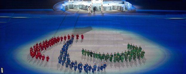 The 2014 Paralympic opening ceremony