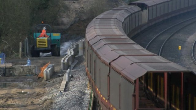 A new freight line is being built to Banbury