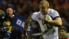 England full-back Mike Brown in action in this year's Six Nations