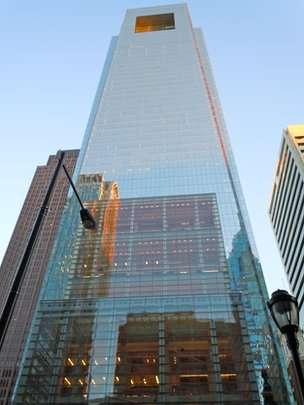 Comcast skyscraper in Philadelphia