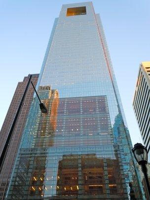 Comcast skyscraper in Philadelphia