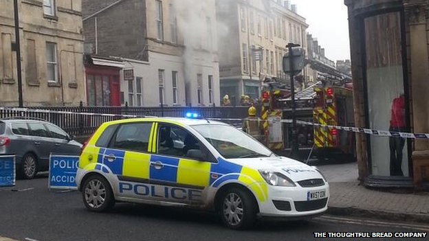 Fire at Moles nightclub