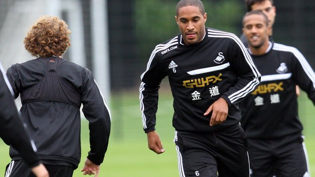 Swansea's Ashley Williams