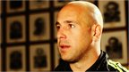 Napoli goalkeeper Pepe Reina speaking to Football Focus