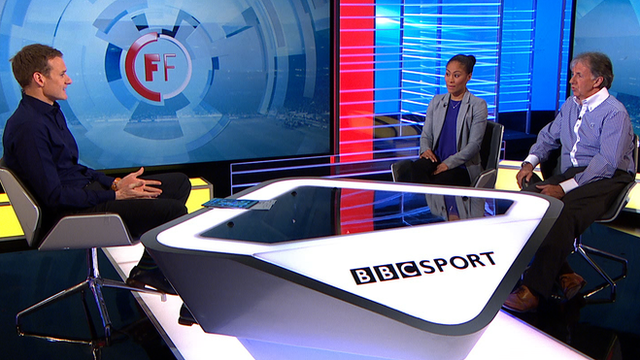 Dan Walker, Rachel Yankey & Mark Lawrenson look ahead to the Champions League