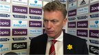 VIDEO: Moyes praises 'creative' United