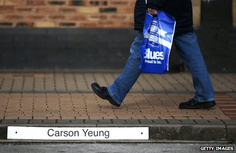 Carson Yeung's parking space at St Andrews