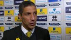VIDEO: Hughton annoyed by 'dropped points'