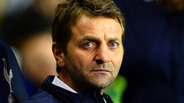 Tottenham boss Tim Sherwood