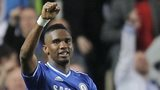 Samuel Eto'o celebrates after putting Chelsea ahead