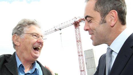 Jimmy Ellis with James Nesbitt