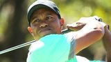 Tiger Woods in third-round action at the WGC-Cadillac Championship at Doral
