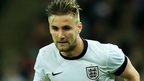 Southampton and England defender Luke Shaw.