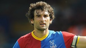 Crystal Palace captain Mile Jedinak