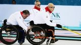 Great Britain wheelchair curling team