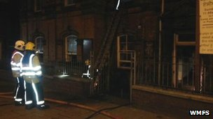 Wolverhampton church fire