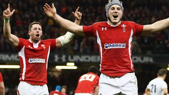 Wales v England in Six Nations