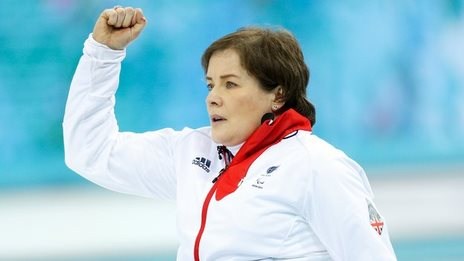 GB wheelchair curling skip Aileen Neilson