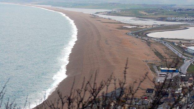 Chesil Beach, Dorset (Image: BBC)