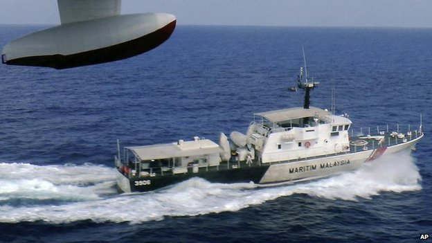 Malaysian Maritime Enforcement Agency vessel, 9 March