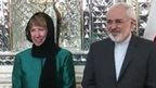 Catherine Ashton and Mohammad Javad Zarif