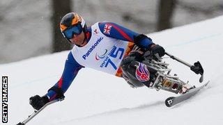 British skier Mick Brennan
