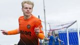 Gary Mackay-Steven celebrates after scoring for Dundee United against Inverness