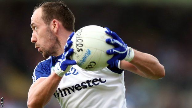 Gavin Doogan scored Monaghan's first goal against Louth