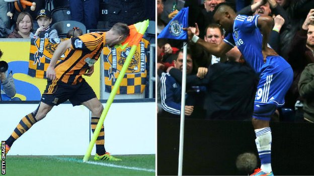 David Meyler and Samuel Eto'o