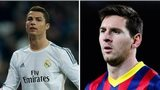 Diego Costa, Cristiano Ronaldo and Lionel Messi