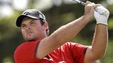 Patrick Reed in final-round action at the WGC-Cadillac Championship