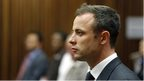 Oscar Pistorius during his murder trial