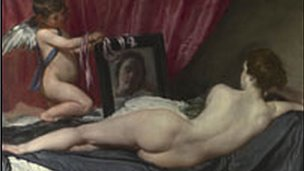 The Toilet of Venus, or The Rokeby Venus, is a famous Velazquez