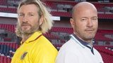 Robbie Savage (left) and Alan Shearer