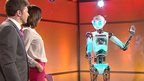 BBC Breakfast's presenters meet Robothespian
