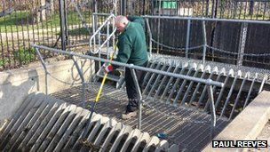 Environment Agency checking flood defences